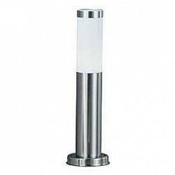 Наземный низкий светильник GloboНизкие<br>Артикул - GB_3158,Бренд - Globo (Австрия),Коллекция - Boston,Гарантия, месяцы - 24,Время изготовления, дней - 1,Высота, мм - 450,Диаметр, мм - 76,Размер упаковки, мм - 460x130x130,Тип лампы - компактная люминесцентная [КЛЛ] ИЛИнакаливания ИЛИсветодиодная [LED],Общее кол-во ламп - 1,Напряжение питания лампы, В - 220,Максимальная мощность лампы, Вт - 60,Лампы в комплекте - отсутствуют,Цвет плафонов и подвесок - белый,Тип поверхности плафонов - матовый,Материал плафонов и подвесок - полимер,Цвет арматуры - сталь,Тип поверхности арматуры - глянцевый,Материал арматуры - сталь,Тип цоколя лампы - E27,Класс электробезопасности - I,Степень пылевлагозащиты, IP - 44<br>