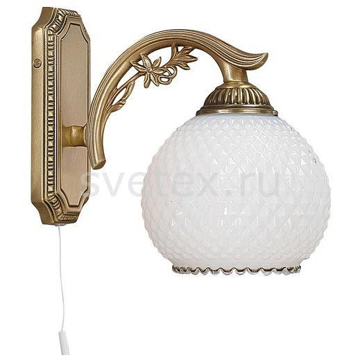 Бра Reccagni AngeloНастенные светильники<br>Артикул - RA_A_8600_1,Бренд - Reccagni Angelo (Италия),Коллекция - 8600,Гарантия, месяцы - 24,Ширина, мм - 200,Высота, мм - 200,Выступ, мм - 230,Тип лампы - компактная люминесцентная [КЛЛ] ИЛИнакаливания ИЛИсветодиодная [LED],Общее кол-во ламп - 1,Напряжение питания лампы, В - 220,Максимальная мощность лампы, Вт - 60,Лампы в комплекте - отсутствуют,Цвет плафонов и подвесок - белый,Тип поверхности плафонов - матовый, рельефный,Материал плафонов и подвесок - стекло,Цвет арматуры - бронза состаренная,Тип поверхности арматуры - матовый, рельефный,Материал арматуры - латунь,Количество плафонов - 1,Наличие выключателя, диммера или пульта ДУ - выключатель шнуровой,Возможность подлючения диммера - можно, если установить лампу накаливания,Тип цоколя лампы - E27,Класс электробезопасности - I,Степень пылевлагозащиты, IP - 20,Диапазон рабочих температур - комнатная температура,Дополнительные параметры - способ крепления светильника на стене – на монтажной пластине, светильник предназначен для использования со скрытой проводкой<br>
