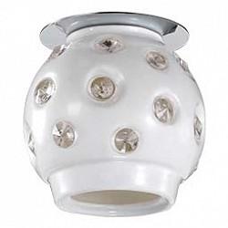 Встраиваемый светильник NovotechСветильники для натяжных потолков<br>Артикул - NV_370159,Бренд - Novotech (Венгрия),Коллекция - Zefiro,Гарантия, месяцы - 24,Время изготовления, дней - 1,Высота, мм - 130,Диаметр, мм - 95,Тип лампы - галогеновая ИЛИсветодиодная [LED],Общее кол-во ламп - 1,Напряжение питания лампы, В - 220,Максимальная мощность лампы, Вт - 40,Лампы в комплекте - отсутствуют,Цвет плафонов и подвесок - белый, неокрашенный,Тип поверхности плафонов - глянцевый, прозрачный,Материал плафонов и подвесок - керамика, хрусталь,Цвет арматуры - хром,Тип поверхности арматуры - глянцевый,Материал арматуры - металл,Форма и тип колбы - пальчиковая,Тип цоколя лампы - G9,Класс электробезопасности - II,Степень пылевлагозащиты, IP - 20,Диапазон рабочих температур - комнатная температура<br>