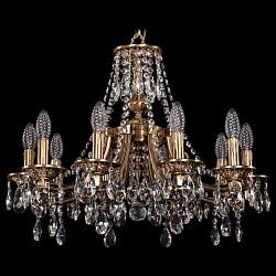 Подвесная люстра Bohemia Ivele CrystalБолее 6 ламп<br>Артикул - BI_1771_10_190_A_FP,Бренд - Bohemia Ivele Crystal (Чехия),Коллекция - 1771,Гарантия, месяцы - 24,Высота, мм - 470,Диаметр, мм - 620,Размер упаковки, мм - 450x450x200,Тип лампы - компактная люминесцентная [КЛЛ] ИЛИнакаливания ИЛИсветодиодная [LED],Общее кол-во ламп - 10,Напряжение питания лампы, В - 220,Максимальная мощность лампы, Вт - 40,Лампы в комплекте - отсутствуют,Цвет плафонов и подвесок - неокрашенный,Тип поверхности плафонов - прозрачный,Материал плафонов и подвесок - хрусталь,Цвет арматуры - золото французское с патиной,Тип поверхности арматуры - глянцевый, рельефный,Материал арматуры - латунь,Возможность подлючения диммера - можно, если установить лампу накаливания,Форма и тип колбы - свеча ИЛИ свеча на ветру,Тип цоколя лампы - E14,Класс электробезопасности - I,Общая мощность, Вт - 400,Степень пылевлагозащиты, IP - 20,Диапазон рабочих температур - комнатная температура,Дополнительные параметры - способ крепления светильника к потолку - на крюке, указана высота светильника без подвеса<br>