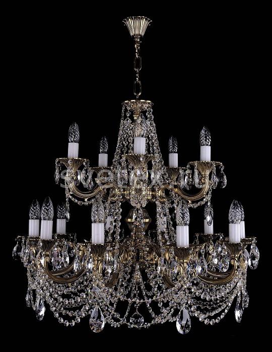 Фото Подвесная люстра Bohemia Ivele Crystal 1702 1702/10_5/C/GB