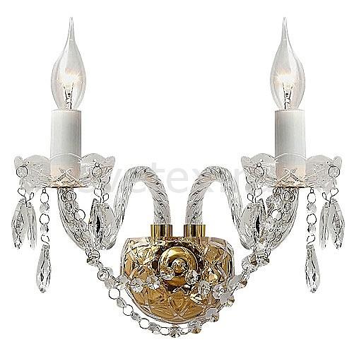 Бра FavouriteБолее 1 лампы<br>Артикул - FV_1735-2W,Бренд - Favourite (Германия),Коллекция - Monreal,Гарантия, месяцы - 24,Ширина, мм - 470,Высота, мм - 300,Выступ, мм - 240,Тип лампы - компактная люминесцентная [КЛЛ] ИЛИнакаливания ИЛИсветодиодная [LED],Общее кол-во ламп - 2,Напряжение питания лампы, В - 220,Максимальная мощность лампы, Вт - 40,Лампы в комплекте - отсутствуют,Цвет плафонов и подвесок - неокрашенный,Тип поверхности плафонов - прозрачный,Материал плафонов и подвесок - хрусталь,Цвет арматуры - белый, золото, неокрашенный,Тип поверхности арматуры - глянцевый, прозрачный,Материал арматуры - металл, стекло,Возможность подлючения диммера - можно, если установить лампу накаливания,Форма и тип колбы - свеча ИЛИ свеча на ветру,Тип цоколя лампы - E14,Класс электробезопасности - I,Общая мощность, Вт - 80,Степень пылевлагозащиты, IP - 20,Диапазон рабочих температур - комнатная температура,Дополнительные параметры - светильник предназначен для использования со скрытой проводкой<br>