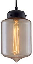 Подвесной светильник Kink LightДля кухни<br>Артикул - KL_4702-1A.12,Бренд - Kink Light (Китай),Коллекция - Менора,Гарантия, месяцы - 12,Высота, мм - 1200,Диаметр, мм - 180,Размер упаковки, мм - 480x235x240,Тип лампы - компактная люминесцентная [КЛЛ] ИЛИнакаливания ИЛИсветодиодная [LED],Общее кол-во ламп - 1,Напряжение питания лампы, В - 220,Максимальная мощность лампы, Вт - 40,Лампы в комплекте - отсутствуют,Цвет плафонов и подвесок - янтарный,Тип поверхности плафонов - прозрачный,Материал плафонов и подвесок - стекло,Цвет арматуры - черный,Тип поверхности арматуры - матовый,Материал арматуры - металл,Количество плафонов - 1,Возможность подлючения диммера - можно, если установить лампу накаливания,Тип цоколя лампы - E27,Класс электробезопасности - I,Степень пылевлагозащиты, IP - 20,Диапазон рабочих температур - комнатная температура,Дополнительные параметры - способ крепления к потолку - на монтажной пластине<br>