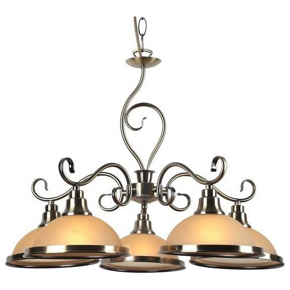 Подвесная люстра Arte LampЛюстры<br>Артикул - AR_A6905LM-5AB,Бренд - Arte Lamp (Италия),Коллекция - Safari,Гарантия, месяцы - 24,Высота, мм - 420-920,Диаметр, мм - 650,Тип лампы - компактная люминесцентная [КЛЛ] ИЛИнакаливания ИЛИсветодиодная [LED],Общее кол-во ламп - 5,Напряжение питания лампы, В - 220,Максимальная мощность лампы, Вт - 60,Лампы в комплекте - отсутствуют,Цвет плафонов и подвесок - белый с каймой,Тип поверхности плафонов - матовый,Материал плафонов и подвесок - стекло,Цвет арматуры - бронза античная,Тип поверхности арматуры - матовый,Материал арматуры - металл,Количество плафонов - 5,Возможность подлючения диммера - можно, если установить лампу накаливания,Тип цоколя лампы - E27,Класс электробезопасности - I,Общая мощность, Вт - 300,Степень пылевлагозащиты, IP - 20,Диапазон рабочих температур - комнатная температура,Дополнительные параметры - способ крепления светильника к потолку - на крюке, регулируется по высоте<br>