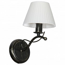 Бра АврораТекстильный плафон<br>Артикул - AV_10109-1B,Бренд - Аврора (Россия),Коллекция - Охота,Гарантия, месяцы - 24,Высота, мм - 280,Тип лампы - компактная люминесцентная [КЛЛ] ИЛИнакаливания ИЛИсветодиодная  [LED],Общее кол-во ламп - 1,Напряжение питания лампы, В - 220,Максимальная мощность лампы, Вт - 60,Лампы в комплекте - отсутствуют,Цвет плафонов и подвесок - белый,Тип поверхности плафонов - матовый,Материал плафонов и подвесок - шелк,Цвет арматуры - коричневый с золотой патиной,Тип поверхности арматуры - матовый,Материал арматуры - металл,Возможность подлючения диммера - можно, если установить лампу накаливания,Тип цоколя лампы - E14,Класс электробезопасности - I,Степень пылевлагозащиты, IP - 20,Диапазон рабочих температур - комнатная температура,Дополнительные параметры - способ крепления светильника на стене – на монтажной пластине, светильник предназначен для использования со скрытой проводкой<br>