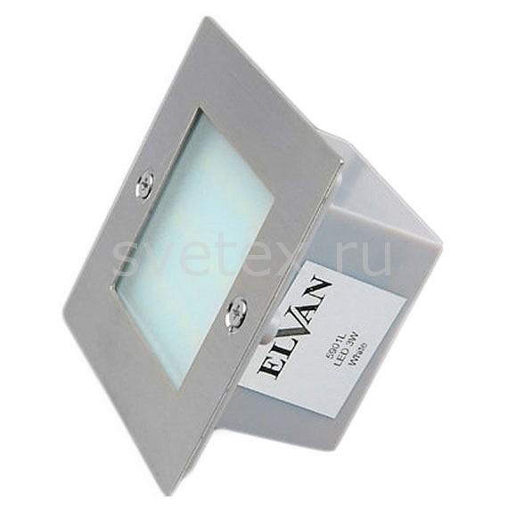 Накладной светильник ElvanТочечные светильники<br>Артикул - ELV_5901L_WW,Бренд - Elvan (Россия),Коллекция - 5901,Гарантия, месяцы - 24,Длина, мм - 105,Ширина, мм - 105,Глубина, мм - 55,Размер врезного отверстия, мм - 80x80,Размер упаковки, мм - 105x105x55,Тип лампы - светодиодная [LED],Общее кол-во ламп - 36,Напряжение питания лампы, В - 220,Максимальная мощность лампы, Вт - 1,Цвет лампы - белый теплый,Лампы в комплекте - светодиодные [LED],Цвет плафонов и подвесок - белый,Тип поверхности плафонов - матовый,Материал плафонов и подвесок - полимер,Цвет арматуры - белый,Тип поверхности арматуры - матовый,Материал арматуры - металл,Количество плафонов - 1,Цветовая температура, K - 3000K,Экономичнее лампы накаливания - в 10 раз,Класс электробезопасности - I,Общая мощность, Вт - 36,Степень пылевлагозащиты, IP - 44,Диапазон рабочих температур - от -40^C до +40^C<br>