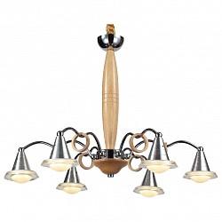 Подвесная люстра Lucia TucciПолимерные плафоны<br>Артикул - LT_Natura_154.6,Бренд - Lucia Tucci (Италия),Коллекция - Natura,Гарантия, месяцы - 24,Высота, мм - 790,Диаметр, мм - 600,Тип лампы - светодиодная [LED],Общее кол-во ламп - 6,Напряжение питания лампы, В - 220,Максимальная мощность лампы, Вт - 5,Лампы в комплекте - светодиодные [LED],Цвет плафонов и подвесок - белый, неокрашенный,Тип поверхности плафонов - матовый,Материал плафонов и подвесок - акрил,Цвет арматуры - сосна, хром,Тип поверхности арматуры - глянцевый, матовый,Материал арматуры - дерево, металл,Возможность подлючения диммера - нельзя,Класс электробезопасности - I,Общая мощность, Вт - 30,Степень пылевлагозащиты, IP - 20,Диапазон рабочих температур - комнатная температура,Дополнительные параметры - регулируется по высоте,  способ крепления светильника к потолку – на крюке<br>
