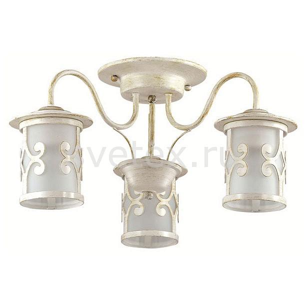 Потолочная люстра LumionЛюстры<br>Артикул - LMN_3125_3C,Бренд - Lumion (Италия),Коллекция - Sekvana,Гарантия, месяцы - 24,Высота, мм - 255,Диаметр, мм - 540,Размер упаковки, мм - 230x350x350,Тип лампы - компактная люминесцентная [КЛЛ] ИЛИнакаливания ИЛИсветодиодная [LED],Общее кол-во ламп - 3,Напряжение питания лампы, В - 220,Максимальная мощность лампы, Вт - 40,Лампы в комплекте - отсутствуют,Цвет плафонов и подвесок - белый с белыми рисунком,Тип поверхности плафонов - матовый,Материал плафонов и подвесок - металл, стекло,Цвет арматуры - белый с золотой патиной,Тип поверхности арматуры - матовый,Материал арматуры - металл,Количество плафонов - 3,Возможность подлючения диммера - можно, если установить лампу накаливания,Тип цоколя лампы - E27,Класс электробезопасности - I,Общая мощность, Вт - 120,Степень пылевлагозащиты, IP - 20,Диапазон рабочих температур - комнатная температура,Дополнительные параметры - способ крепления к потолку - на монтажной пластине<br>
