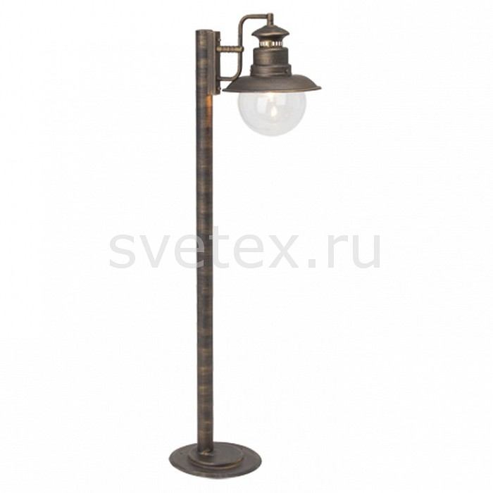 Наземный низкий светильник BrilliantСветильники<br>Артикул - BT_46985_86,Бренд - Brilliant (Германия),Коллекция - Artu,Гарантия, месяцы - 24,Время изготовления, дней - 1,Высота, мм - 990,Выступ, мм - 350,Размер упаковки, мм - 250x230x540,Тип лампы - компактная люминесцентная [КЛЛ] ИЛИнакаливания ИЛИсветодиодная [LED],Общее кол-во ламп - 1,Напряжение питания лампы, В - 220,Максимальная мощность лампы, Вт - 60,Лампы в комплекте - отсутствуют,Цвет плафонов и подвесок - неокрашенный,Тип поверхности плафонов - прозрачный,Материал плафонов и подвесок - стекло,Цвет арматуры - черное золото,Тип поверхности арматуры - матовый,Материал арматуры - металл,Количество плафонов - 1,Тип цоколя лампы - E27,Класс электробезопасности - I,Степень пылевлагозащиты, IP - 44,Диапазон рабочих температур - от -40^C до +40^C<br>