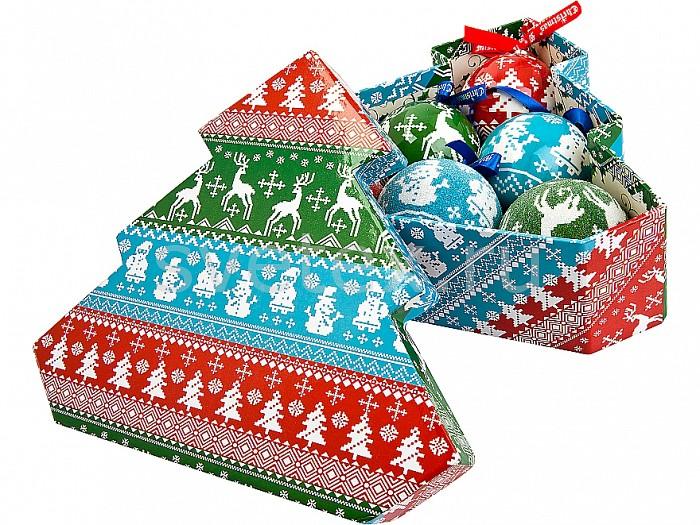 Елочный шар Mister ChristmasЕлочные игрушки<br>Артикул - MC_PM-43-6T,Бренд - Mister Christmas (Россия),Коллекция - PM-43,Диаметр, мм - 75,Диаметр - 7.5 см,Цвет - разноцветный,Материал - папье-маше<br>