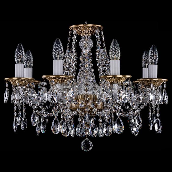 Фото Подвесная люстра Bohemia Ivele Crystal 1613 1613/8/200/FP