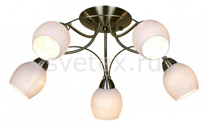 Потолочная люстра VelanteЛюстры<br>Артикул - VE_168-507-05,Бренд - Velante (Италия),Коллекция - 168,Гарантия, месяцы - 24,Высота, мм - 230,Диаметр, мм - 600,Тип лампы - компактная люминесцентная [КЛЛ] ИЛИнакаливания ИЛИсветодиодная [LED],Общее кол-во ламп - 5,Напряжение питания лампы, В - 220,Максимальная мощность лампы, Вт - 40,Лампы в комплекте - отсутствуют,Цвет плафонов и подвесок - белый,Тип поверхности плафонов - матовый,Материал плафонов и подвесок - стекло,Цвет арматуры - бронза античная,Тип поверхности арматуры - матовый,Материал арматуры - металл,Количество плафонов - 5,Возможность подлючения диммера - можно, если установить лампу накаливания,Тип цоколя лампы - E14,Класс электробезопасности - I,Общая мощность, Вт - 200,Степень пылевлагозащиты, IP - 20,Диапазон рабочих температур - комнатная температура,Дополнительные параметры - способ крепления светильника к потолку - на монтажной пластине<br>