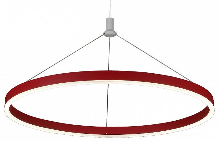 Подвесной светильник Kink LightДля кухни<br>Артикул - KL_08213.06,Бренд - Kink Light (Китай),Коллекция - Тор,Гарантия, месяцы - 24,Высота, мм - 1100,Диаметр, мм - 600,Размер упаковки, мм - 110x670x670,Тип лампы - светодиодная [LED],Общее кол-во ламп - 1,Напряжение питания лампы, В - 220,Максимальная мощность лампы, Вт - 36,Цвет лампы - белый,Лампы в комплекте - светодиодная [LED],Цвет плафонов и подвесок - красный,Тип поверхности плафонов - матовый,Материал плафонов и подвесок - акрил,Цвет арматуры - красный,Тип поверхности арматуры - матовый,Материал арматуры - металл,Количество плафонов - 1,Возможность подлючения диммера - нельзя,Цветовая температура, K - 4000 K,Световой поток, лм - 3240,Экономичнее лампы накаливания - В 5, 9 раза,Светоотдача, лм/Вт - 90,Класс электробезопасности - I,Степень пылевлагозащиты, IP - 20,Диапазон рабочих температур - комнатная температура,Дополнительные параметры - способ крепления светильника к потолку - на монтажной пластине, светильник регулируется по высоте<br>