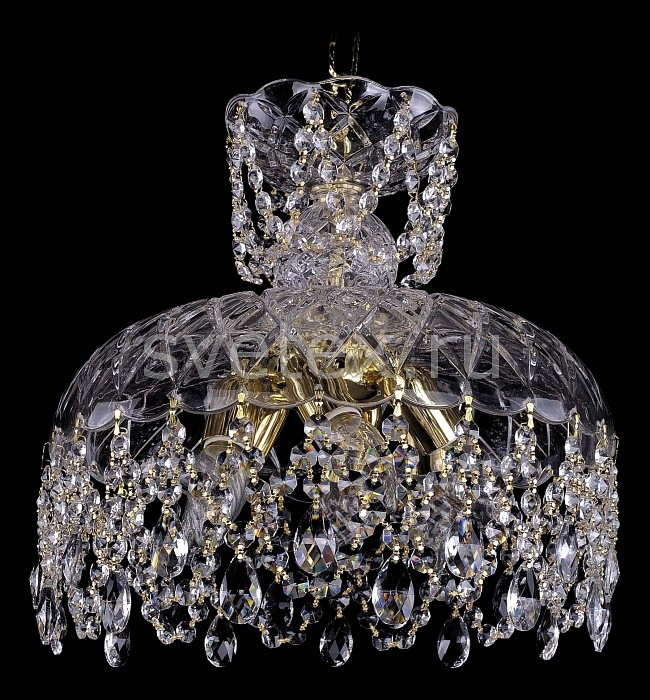Фото Подвесной светильник Bohemia Ivele Crystal 7711 7711/35/G
