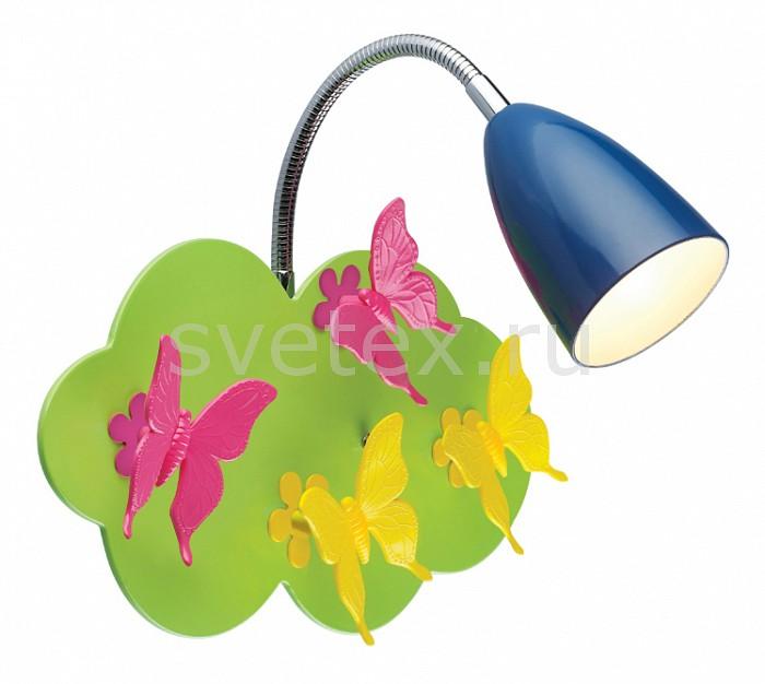 Бра ST-LuceБра<br>Артикул - SL805.021.01,Бренд - ST-Luce (Китай),Коллекция - Farfalla,Гарантия, месяцы - 24,Ширина, мм - 380,Высота, мм - 250,Выступ, мм - 250,Размер упаковки, мм - 290x270x150,Тип лампы - компактная люминесцентная [КЛЛ] ИЛИнакаливания ИЛИсветодиодная [LED],Общее кол-во ламп - 1,Напряжение питания лампы, В - 220,Максимальная мощность лампы, Вт - 40,Лампы в комплекте - отсутствуют,Цвет плафонов и подвесок - синий,Тип поверхности плафонов - матовый,Материал плафонов и подвесок - металл,Цвет арматуры - желтый, зеленый, розовый,Тип поверхности арматуры - матовый,Материал арматуры - металл,Количество плафонов - 1,Возможность подлючения диммера - можно, если установить лампу накаливания,Тип цоколя лампы - E14,Класс электробезопасности - I,Степень пылевлагозащиты, IP - 20,Диапазон рабочих температур - комнатная температура,Дополнительные параметры - способ крепления светильника к стене – на монтажной пластине, предназначен для использования со скрытой проводкой, поворотный светильник, светильник декорирован светодиодами<br>