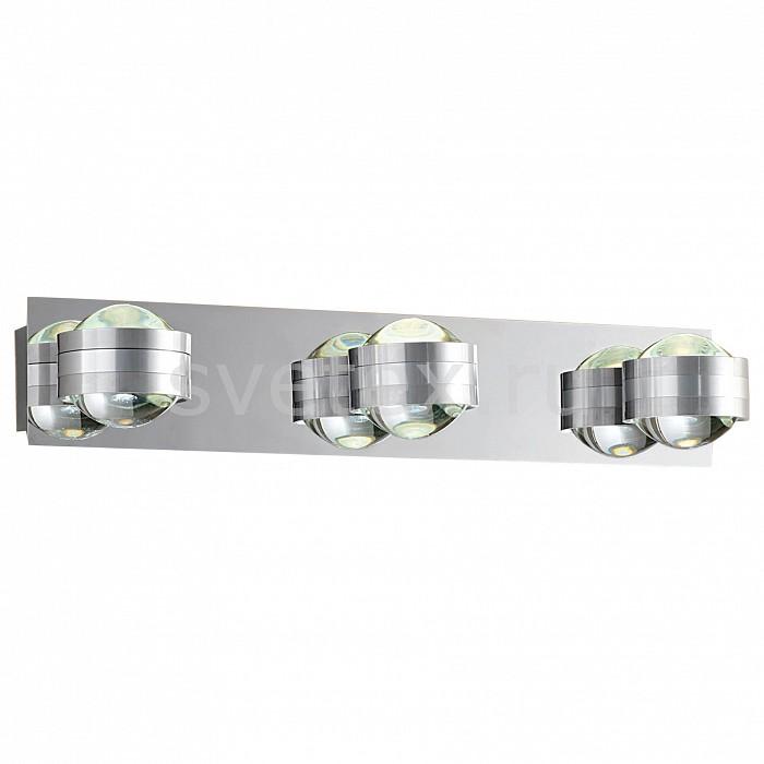 Бра CitiluxНастенные светильники<br>Артикул - CL552331,Бренд - Citilux (Дания),Коллекция - Пойнт,Гарантия, месяцы - 24,Время изготовления, дней - 1,Ширина, мм - 420,Высота, мм - 110,Выступ, мм - 80,Тип лампы - светодиодная [LED],Общее кол-во ламп - 6,Напряжение питания лампы, В - 220,Максимальная мощность лампы, Вт - 3,Цвет лампы - белый теплый,Лампы в комплекте - светодиодные [LED],Цвет плафонов и подвесок - неокрашенный,Тип поверхности плафонов - прозрачный,Материал плафонов и подвесок - стекло,Цвет арматуры - алюминий, хром,Тип поверхности арматуры - глянцевый,Материал арматуры - металл,Количество плафонов - 3,Возможность подлючения диммера - можно,Компоненты, входящие в комплект - блок питания,Цветовая температура, K - 3000 K,Экономичнее лампы накаливания - в 15 раз,Класс электробезопасности - I,Общая мощность, Вт - 18,Степень пылевлагозащиты, IP - 20,Диапазон рабочих температур - комнатная температура,Дополнительные параметры - светильник предназначен для использования со скрытой проводкой<br>