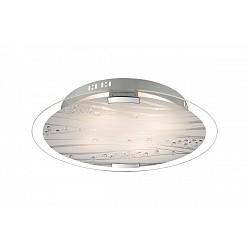 Накладной светильник SonexКруглые<br>Артикул - SN_3232,Бренд - Sonex (Россия),Коллекция - Lakri,Гарантия, месяцы - 24,Время изготовления, дней - 1,Диаметр, мм - 500,Тип лампы - компактная люминесцентная [КЛЛ] ИЛИнакаливания ИЛИсветодиодная [LED],Общее кол-во ламп - 3,Напряжение питания лампы, В - 220,Максимальная мощность лампы, Вт - 60,Лампы в комплекте - отсутствуют,Цвет плафонов и подвесок - белый с рисунком, неокрашенный,Тип поверхности плафонов - матовый,Материал плафонов и подвесок - стекло, хрусталь,Цвет арматуры - хром,Тип поверхности арматуры - глянцевый,Материал арматуры - металл,Возможность подлючения диммера - можно, если установить лампу накаливания,Тип цоколя лампы - E27,Класс электробезопасности - I,Общая мощность, Вт - 180,Степень пылевлагозащиты, IP - 20,Диапазон рабочих температур - комнатная температура<br>