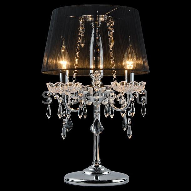 Фото Настольная лампа Eurosvet E14 220В 60Вт 2045 2045/3T хром/черный настольная лампа