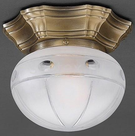 Накладной светильник Reccagni AngeloКруглые<br>Артикул - RA_PL_7734_1,Бренд - Reccagni Angelo (Италия),Коллекция - 7734,Гарантия, месяцы - 24,Высота, мм - 140,Диаметр, мм - 160,Тип лампы - компактная люминесцентная [КЛЛ] ИЛИнакаливания ИЛИсветодиодная [LED],Общее кол-во ламп - 1,Напряжение питания лампы, В - 220,Максимальная мощность лампы, Вт - 60,Лампы в комплекте - отсутствуют,Цвет плафонов и подвесок - белый с рисунком,Тип поверхности плафонов - матовый,Материал плафонов и подвесок - стекло,Цвет арматуры - бронза состаренная,Тип поверхности арматуры - матовый, рельефный,Материал арматуры - латунь,Количество плафонов - 1,Возможность подлючения диммера - можно, если установить лампу накаливания,Тип цоколя лампы - E27,Класс электробезопасности - I,Степень пылевлагозащиты, IP - 20,Диапазон рабочих температур - комнатная температура,Дополнительные параметры - способ крепления светильника к потолку - на монтажной пластине<br>