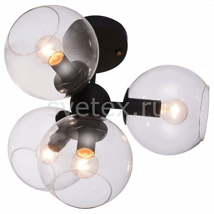 Люстра на штанге FavouriteЛюстры<br>Артикул - FV_1491-4U,Бренд - Favourite (Германия),Коллекция - Schoppen,Гарантия, месяцы - 24,Высота, мм - 360,Диаметр, мм - 360,Тип лампы - компактная люминесцентная [КЛЛ] ИЛИнакаливания ИЛИсветодиодная [LED],Общее кол-во ламп - 4,Напряжение питания лампы, В - 220,Максимальная мощность лампы, Вт - 40,Лампы в комплекте - отсутствуют,Цвет плафонов и подвесок - неокрашенный,Тип поверхности плафонов - прозрачный,Материал плафонов и подвесок - стекло,Цвет арматуры - черный,Тип поверхности арматуры - матовый,Материал арматуры - металл,Количество плафонов - 4,Возможность подлючения диммера - можно, если установить лампу накаливания,Тип цоколя лампы - E14,Класс электробезопасности - I,Общая мощность, Вт - 160,Степень пылевлагозащиты, IP - 20,Диапазон рабочих температур - комнатная температура,Дополнительные параметры - способ крепления светильника к потолку - на монтажной пластине<br>