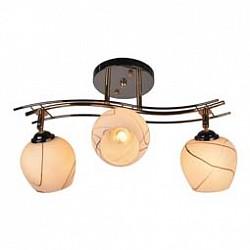 Спот IDLampС 3 лампами<br>Артикул - ID_880_3PF-Darkgold,Бренд - IDLamp (Италия),Коллекция - 880,Гарантия, месяцы - 24,Диаметр, мм - 550,Тип лампы - компактная люминесцентная [КЛЛ] ИЛИнакаливания ИЛИсветодиодная [LED],Общее кол-во ламп - 3,Напряжение питания лампы, В - 220,Максимальная мощность лампы, Вт - 40,Лампы в комплекте - отсутствуют,Цвет плафонов и подвесок - белый с черный рисунком,Тип поверхности плафонов - матовый,Материал плафонов и подвесок - стекло,Цвет арматуры - черный, золото,Тип поверхности арматуры - глянцевый,Материал арматуры - металл,Возможность подлючения диммера - можно, если установить лампу накаливания,Тип цоколя лампы - E27,Общая мощность, Вт - 120,Степень пылевлагозащиты, IP - 20,Диапазон рабочих температур - комнатная температура,Дополнительные параметры - поворотный светильник<br>