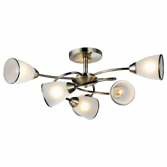 Люстра на штанге Arte LampЛюстры<br>Артикул - AR_A6059PL-6AB,Бренд - Arte Lamp (Италия),Коллекция - Innocente,Гарантия, месяцы - 24,Время изготовления, дней - 1,Высота, мм - 320,Диаметр, мм - 720,Тип лампы - компактная люминесцентная [КЛЛ] ИЛИнакаливания ИЛИсветодиодная [LED],Общее кол-во ламп - 6,Напряжение питания лампы, В - 220,Максимальная мощность лампы, Вт - 60,Лампы в комплекте - отсутствуют,Цвет плафонов и подвесок - белый с каймой,Тип поверхности плафонов - матовый,Материал плафонов и подвесок - стекло,Цвет арматуры - бронза античная,Тип поверхности арматуры - глянцевый,Материал арматуры - металл,Количество плафонов - 6,Возможность подлючения диммера - можно, если установить лампу накаливания,Тип цоколя лампы - E14,Класс электробезопасности - I,Общая мощность, Вт - 360,Степень пылевлагозащиты, IP - 20,Диапазон рабочих температур - комнатная температура,Дополнительные параметры - способ крепления светильника к потолку – на монтажной пластине<br>