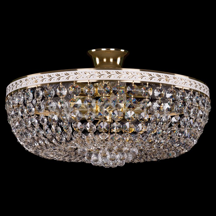 Фото Люстра на штанге Bohemia Ivele Crystal 1928 1928/45Z/GW