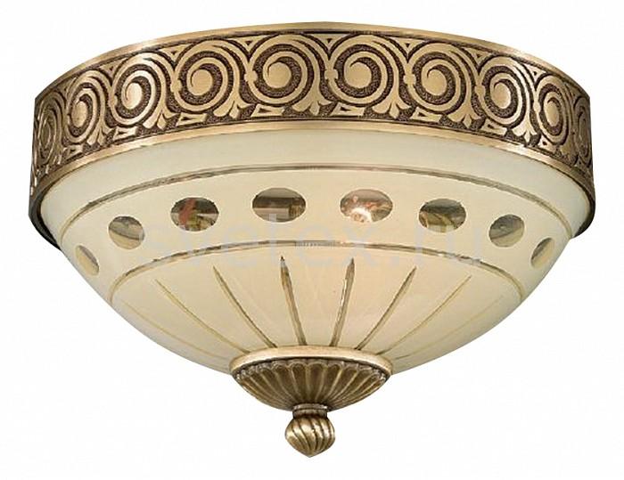 Накладной светильник Reccagni AngeloКруглые<br>Артикул - RA_PL_7014_2,Бренд - Reccagni Angelo (Италия),Коллекция - 7014,Гарантия, месяцы - 24,Высота, мм - 170,Диаметр, мм - 240,Тип лампы - компактная люминесцентная [КЛЛ] ИЛИнакаливания ИЛИсветодиодная [LED],Общее кол-во ламп - 2,Напряжение питания лампы, В - 220,Максимальная мощность лампы, Вт - 60,Лампы в комплекте - отсутствуют,Цвет плафонов и подвесок - кремовый с рисунком,Тип поверхности плафонов - матовый,Материал плафонов и подвесок - стекло,Цвет арматуры - бронза состаренная,Тип поверхности арматуры - матовый, рельефный,Материал арматуры - латунь,Количество плафонов - 1,Возможность подлючения диммера - можно, если установить лампу накаливания,Тип цоколя лампы - E27,Класс электробезопасности - I,Общая мощность, Вт - 120,Степень пылевлагозащиты, IP - 20,Диапазон рабочих температур - комнатная температура,Дополнительные параметры - способ крепления светильника к потолку - на монтажной пластине<br>