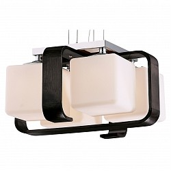Подвесной светильник Odeon LightБарные<br>Артикул - OD_2199_4,Бренд - Odeon Light (Италия),Коллекция - Via,Гарантия, месяцы - 24,Время изготовления, дней - 1,Высота, мм - 245-1100,Тип лампы - компактная люминесцентная [КЛЛ] ИЛИнакаливания ИЛИсветодиодная [LED],Общее кол-во ламп - 4,Напряжение питания лампы, В - 220,Максимальная мощность лампы, Вт - 60,Лампы в комплекте - отсутствуют,Цвет плафонов и подвесок - белый,Тип поверхности плафонов - матовый,Материал плафонов и подвесок - стекло,Цвет арматуры - венге, хром,Тип поверхности арматуры - матовый, глянцевый,Материал арматуры - дерево, металл,Возможность подлючения диммера - можно, если установить лампу накаливания,Тип цоколя лампы - E27,Класс электробезопасности - I,Общая мощность, Вт - 240,Степень пылевлагозащиты, IP - 20,Диапазон рабочих температур - комнатная температура<br>