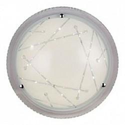 Накладной светильник ST-LuceКруглые<br>Артикул - SL493.502.01,Бренд - ST-Luce (Китай),Коллекция - Universale,Гарантия, месяцы - 24,Диаметр, мм - 300,Размер упаковки, мм - 580x320x640,Тип лампы - светодиодная [LED],Общее кол-во ламп - 1,Максимальная мощность лампы, Вт - 12,Лампы в комплекте - светодиодная [LED],Цвет плафонов и подвесок - белый с рисунком,Тип поверхности плафонов - матовый, прозрачный,Материал плафонов и подвесок - стекло,Цвет арматуры - хром,Тип поверхности арматуры - глянцевый, матовый,Материал арматуры - металл,Возможность подлючения диммера - нельзя,Класс электробезопасности - I,Степень пылевлагозащиты, IP - 20,Диапазон рабочих температур - комнатная температура,Дополнительные параметры - способ крепления светильника на потолке и стене – на монтажной пластине<br>
