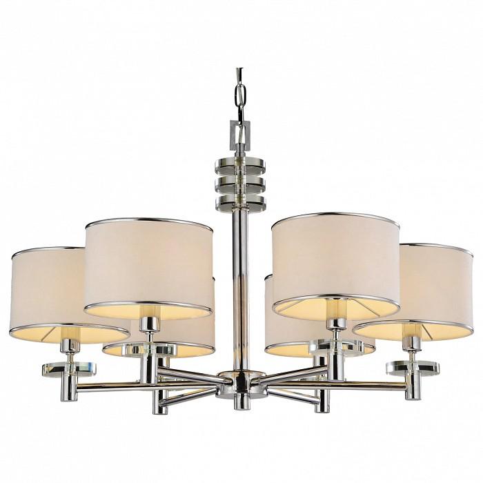 Подвесная люстра Arte LampСветильники<br>Артикул - AR_A3990LM-6CC,Бренд - Arte Lamp (Италия),Коллекция - Furore,Гарантия, месяцы - 24,Время изготовления, дней - 1,Высота, мм - 1650,Диаметр, мм - 700,Тип лампы - компактная люминесцентная [КЛЛ] ИЛИнакаливания ИЛИсветодиодная [LED],Общее кол-во ламп - 6,Напряжение питания лампы, В - 220,Максимальная мощность лампы, Вт - 40,Лампы в комплекте - отсутствуют,Цвет плафонов и подвесок - белый с хромированной каймой,Тип поверхности плафонов - матовый,Материал плафонов и подвесок - текстиль,Цвет арматуры - хром,Тип поверхности арматуры - глянцевый,Материал арматуры - металл,Количество плафонов - 6,Возможность подлючения диммера - можно, если установить лампу накаливания,Тип цоколя лампы - E14,Класс электробезопасности - I,Общая мощность, Вт - 240,Степень пылевлагозащиты, IP - 20,Диапазон рабочих температур - комнатная температура<br>