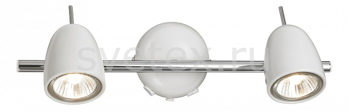 Бра markslojdМеталлический плафон<br>Артикул - ML_413012,Бренд - markslojd (Швеция),Коллекция - Tobo,Гарантия, месяцы - 24,Ширина, мм - 340,Высота, мм - 100,Выступ, мм - 175,Размер упаковки, мм - 365x285x350,Тип лампы - галогеновая,Общее кол-во ламп - 2,Напряжение питания лампы, В - 220,Максимальная мощность лампы, Вт - 50,Цвет лампы - белый теплый,Лампы в комплекте - галогеновые GU10,Цвет плафонов и подвесок - белый,Тип поверхности плафонов - глянцевый,Материал плафонов и подвесок - металл,Цвет арматуры - белый,Тип поверхности арматуры - глянцевый,Материал арматуры - металл,Количество плафонов - 2,Наличие выключателя, диммера или пульта ДУ - выключатель,Возможность подлючения диммера - можно,Форма и тип колбы - полусферическая с рефлектором,Тип цоколя лампы - GU10,Цветовая температура, K - 2800 - 3200 K,Экономичнее лампы накаливания - на 50%,Класс электробезопасности - I,Общая мощность, Вт - 100,Степень пылевлагозащиты, IP - 20,Диапазон рабочих температур - комнатная температура,Дополнительные параметры - способ крепления светильника к стене  – на монтажной пластине, светильник предназначен для использования со скрытой проводкой, поворотный светильник<br>