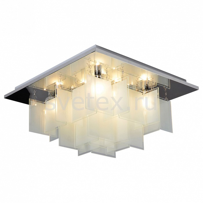 Накладной светильник LussoleКвадратные<br>Артикул - LSP-9937,Бренд - Lussole (Италия),Коллекция - Loft,Гарантия, месяцы - 24,Время изготовления, дней - 1,Длина, мм - 450,Ширина, мм - 450,Высота, мм - 240,Тип лампы - компактная люминесцентная [КЛЛ] ИЛИнакаливания ИЛИсветодиодная [LED],Общее кол-во ламп - 8,Напряжение питания лампы, В - 220,Максимальная мощность лампы, Вт - 40,Лампы в комплекте - отсутствуют,Цвет плафонов и подвесок - белый,Тип поверхности плафонов - матовый,Материал плафонов и подвесок - стекло,Цвет арматуры - хром,Тип поверхности арматуры - глянцевый,Материал арматуры - металл,Возможность подлючения диммера - можно, если установить лампу накаливания,Тип цоколя лампы - E14,Класс электробезопасности - I,Общая мощность, Вт - 320,Степень пылевлагозащиты, IP - 20,Диапазон рабочих температур - комнатная температура<br>