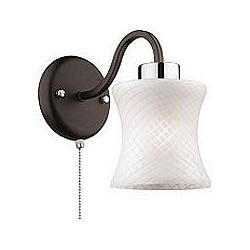 Бра Odeon LightС 1 лампой<br>Артикул - OD_2439_1W,Бренд - Odeon Light (Италия),Коллекция - Mara,Гарантия, месяцы - 24,Высота, мм - 300,Тип лампы - компактная люминесцентная [КЛЛ] ИЛИнакаливания ИЛИсветодиодная [LED],Общее кол-во ламп - 1,Напряжение питания лампы, В - 220,Максимальная мощность лампы, Вт - 60,Лампы в комплекте - отсутствуют,Цвет плафонов и подвесок - белый,Тип поверхности плафонов - матовый,Материал плафонов и подвесок - стекло,Цвет арматуры - венге, хром,Тип поверхности арматуры - матовый,Материал арматуры - металл,Возможность подлючения диммера - можно, если установить лампу накаливания,Тип цоколя лампы - E27,Класс электробезопасности - I,Степень пылевлагозащиты, IP - 20,Диапазон рабочих температур - комнатная температура,Дополнительные параметры - светильник предназначен для использования со скрытой проводкой<br>