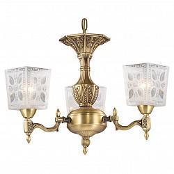 Подвесная люстра Odeon LightНе более 4 ламп<br>Артикул - OD_2564_3,Бренд - Odeon Light (Италия),Коллекция - Vitra,Гарантия, месяцы - 24,Высота, мм - 330,Диаметр, мм - 510,Тип лампы - компактная люминесцентная [КЛЛ] ИЛИнакаливания ИЛИсветодиодная [LED],Общее кол-во ламп - 3,Напряжение питания лампы, В - 220,Максимальная мощность лампы, Вт - 60,Лампы в комплекте - отсутствуют,Цвет плафонов и подвесок - белый с рисунком,Тип поверхности плафонов - матовый,Материал плафонов и подвесок - стекло,Цвет арматуры - бронза,Тип поверхности арматуры - матовый,Материал арматуры - металл,Возможность подлючения диммера - можно, если установить лампу накаливания,Тип цоколя лампы - E14,Класс электробезопасности - I,Общая мощность, Вт - 180,Степень пылевлагозащиты, IP - 20,Диапазон рабочих температур - комнатная температура,Дополнительные параметры - указана высота светильника без подвеса<br>