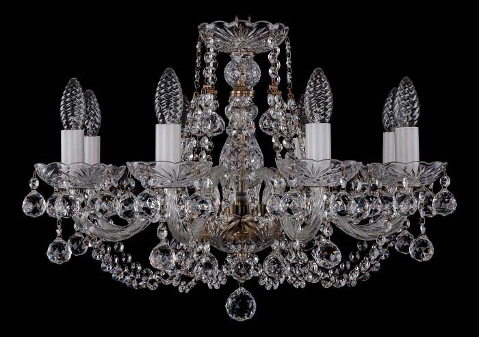 Фото Подвесная люстра Bohemia Ivele Crystal 1406 1406/8/195/Pa/Balls