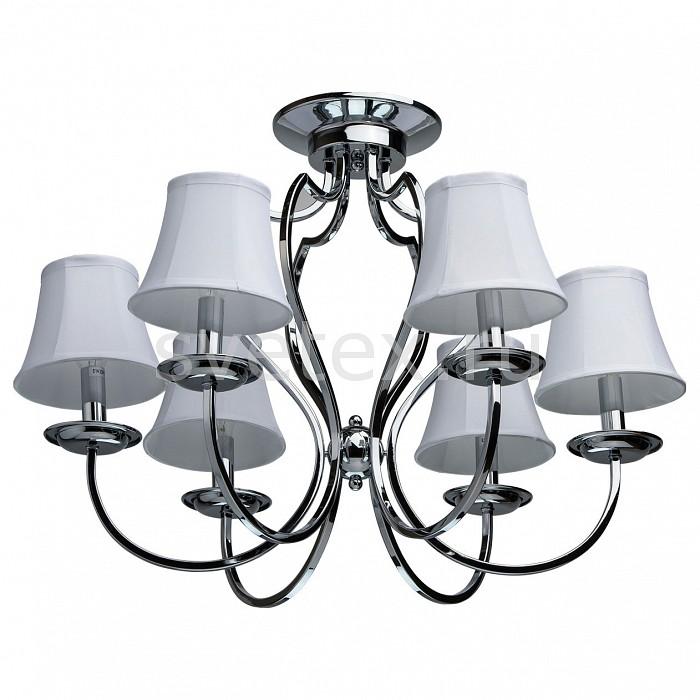 Потолочная люстра MW-LightСветильники<br>Артикул - MW_329011206,Бренд - MW-Light (Германия),Коллекция - Вега,Гарантия, месяцы - 24,Высота, мм - 500,Диаметр, мм - 620,Размер упаковки, мм - 540x350x300,Тип лампы - компактная люминесцентная [КЛЛ] ИЛИнакаливания ИЛИсветодиодная [LED],Общее кол-во ламп - 6,Напряжение питания лампы, В - 220,Максимальная мощность лампы, Вт - 60,Лампы в комплекте - отсутствуют,Цвет плафонов и подвесок - белый с каймой,Тип поверхности плафонов - матовый,Материал плафонов и подвесок - текстиль,Цвет арматуры - хром,Тип поверхности арматуры - глянцевый,Материал арматуры - металл,Количество плафонов - 6,Возможность подлючения диммера - можно, если установить лампу накаливания,Тип цоколя лампы - E14,Класс электробезопасности - I,Общая мощность, Вт - 360,Степень пылевлагозащиты, IP - 20,Диапазон рабочих температур - комнатная температура,Дополнительные параметры - способ крепления светильника к потолку - на монтажной пластине<br>