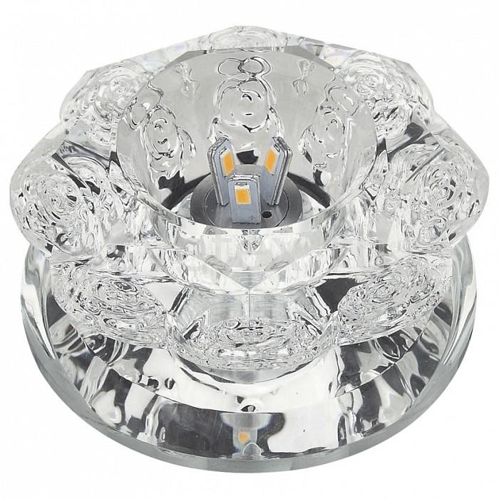 Встраиваемый светильник UnielПотолочные светильники<br>Примечание - прозрачный,Артикул - UL_10755,Бренд - Uniel (Китай),Коллекция - Luciole,Гарантия, месяцы - 24,Высота, мм - 65,Выступ, мм - 47,Глубина, мм - 18,Диаметр, мм - 98,Размер врезного отверстия, мм - d70,Тип лампы - светодиодная (LED), галогеновая,Общее кол-во ламп - 1,Максимальная мощность лампы, Вт - 35,Лампы в комплекте - отсутствуют,Цвет арматуры - неокрашенный,Тип поверхности арматуры - глянцевый, прозрачный,Материал арматуры - зеркало, стекло,Возможность подлючения диммера - можно, если установить галогеновую лампу,Форма и тип колбы - полусферическая с рефлектором,Тип цоколя лампы - GU5.3,Класс электробезопасности - I,Напряжение питания, В - 220,Степень пылевлагозащиты, IP - 20,Диапазон рабочих температур - комнатная температура,Дополнительные параметры - светильник декорирован светодиодной подстветкой общей мощностью 1 Вт<br>