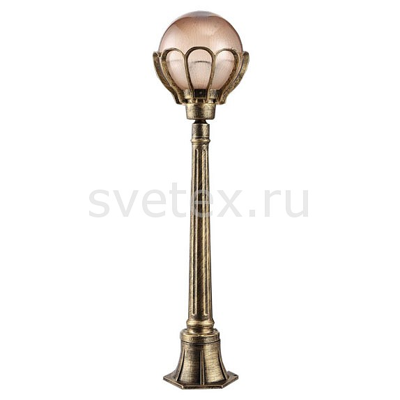 Наземный высокий светильник FeronСветильники<br>Артикул - FE_11549,Бренд - Feron (Китай),Коллекция - Верона,Гарантия, месяцы - 24,Высота, мм - 1020,Диаметр, мм - 230,Тип лампы - компактная люминесцентная [КЛЛ] ИЛИнакаливания ИЛИсветодиодная [LED],Общее кол-во ламп - 1,Напряжение питания лампы, В - 220,Максимальная мощность лампы, Вт - 60,Лампы в комплекте - отсутствуют,Цвет плафонов и подвесок - бежевый,Тип поверхности плафонов - прозрачный,Материал плафонов и подвесок - полимер,Цвет арматуры - золото черненое,Тип поверхности арматуры - матовый, рельефный,Материал арматуры - силумин,Количество плафонов - 1,Тип цоколя лампы - E27,Класс электробезопасности - I,Степень пылевлагозащиты, IP - 44,Диапазон рабочих температур - от -40^C до +40^C<br>