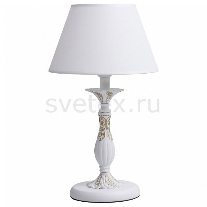 Настольная лампа MW-Lightприкроватные светильники для спальни купить<br>Артикул - MW_301039501,Бренд - MW-Light (Германия),Коллекция - Свеча 2,Гарантия, месяцы - 24,Высота, мм - 500,Диаметр, мм - 280,Тип лампы - компактная люминесцентная [КЛЛ] ИЛИнакаливания ИЛИсветодиодная [LED],Общее кол-во ламп - 1,Напряжение питания лампы, В - 220,Максимальная мощность лампы, Вт - 40,Лампы в комплекте - отсутствуют,Цвет плафонов и подвесок - белый,Тип поверхности плафонов - матовый,Материал плафонов и подвесок - текстиль,Цвет арматуры - белый, золото,Тип поверхности арматуры - матовый, рельефный,Материал арматуры - металл,Количество плафонов - 1,Наличие выключателя, диммера или пульта ДУ - выключатель на проводе,Компоненты, входящие в комплект - провод электропитания с вилкой без заземления,Тип цоколя лампы - E27,Класс электробезопасности - I,Степень пылевлагозащиты, IP - 20,Диапазон рабочих температур - комнатная температура<br>