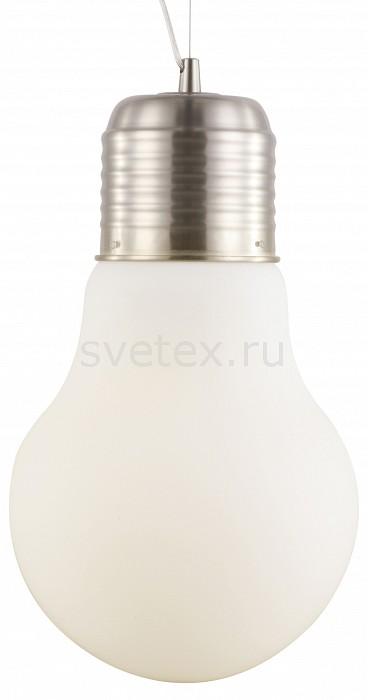 Подвесной светильник Arte LampСветодиодные<br>Артикул - AR_A1403SP-1SS,Бренд - Arte Lamp (Италия),Коллекция - Edison,Гарантия, месяцы - 24,Время изготовления, дней - 1,Высота, мм - 520-1170,Диаметр, мм - 290,Тип лампы - компактная люминесцентная [КЛЛ] ИЛИнакаливания ИЛИсветодиодная [LED],Общее кол-во ламп - 1,Напряжение питания лампы, В - 220,Максимальная мощность лампы, Вт - 40,Лампы в комплекте - отсутствуют,Цвет плафонов и подвесок - белый,Тип поверхности плафонов - матовый,Материал плафонов и подвесок - стекло,Цвет арматуры - серебро,Тип поверхности арматуры - матовый,Материал арматуры - металл,Количество плафонов - 1,Возможность подлючения диммера - можно, если установить лампу накаливания,Тип цоколя лампы - E27,Класс электробезопасности - I,Степень пылевлагозащиты, IP - 20,Диапазон рабочих температур - комнатная температура,Дополнительные параметры - способ крепления светильника к потолку – на монтажной пластине<br>