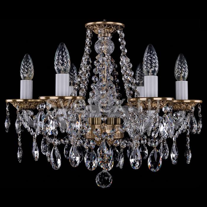 Фото Подвесная люстра Bohemia Ivele Crystal 1613 1613/6/165/FP