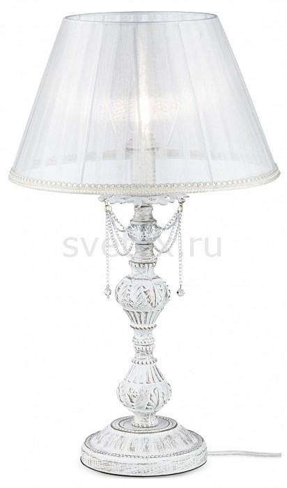 Настольная лампа MaytoniС абажуром<br>Артикул - MY_ARM305-22-W,Бренд - Maytoni (Германия),Коллекция - Lolita,Гарантия, месяцы - 24,Время изготовления, дней - 1,Высота, мм - 580,Диаметр, мм - 320,Тип лампы - компактная люминесцентная [КЛЛ] ИЛИнакаливания ИЛИсветодиодная [LED],Общее кол-во ламп - 1,Напряжение питания лампы, В - 220,Максимальная мощность лампы, Вт - 40,Лампы в комплекте - отсутствуют,Цвет плафонов и подвесок - белый, неокрашенный,Тип поверхности плафонов - прозрачный,Материал плафонов и подвесок - текстиль, хрусталь,Цвет арматуры - белый с золотой патиной, неокрашенный,Тип поверхности арматуры - матовый, прозрачный, рельефный,Материал арматуры - металл, стекло,Количество плафонов - 1,Наличие выключателя, диммера или пульта ДУ - выключатель на проводе,Компоненты, входящие в комплект - провод электропитания с вилкой без заземления,Тип цоколя лампы - E14,Класс электробезопасности - II,Степень пылевлагозащиты, IP - 20,Диапазон рабочих температур - комнатная температура<br>