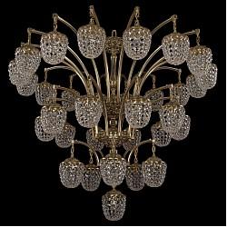 Подвесная люстра Bohemia Ivele CrystalБолее 6 ламп<br>Артикул - BI_1772_16_10_5_1_490_GB,Бренд - Bohemia Ivele Crystal (Чехия),Коллекция - 1772,Гарантия, месяцы - 24,Высота, мм - 1500,Диаметр, мм - 1340,Размер упаковки, мм - 710x710x360,Тип лампы - компактная люминесцентная [КЛЛ] ИЛИнакаливания ИЛИсветодиодная [LED],Общее кол-во ламп - 32,Напряжение питания лампы, В - 220,Максимальная мощность лампы, Вт - 40,Лампы в комплекте - отсутствуют,Цвет плафонов и подвесок - неокрашенный,Тип поверхности плафонов - прозрачный,Материал плафонов и подвесок - хрусталь,Цвет арматуры - золото черненое,Тип поверхности арматуры - глянцевый, рельефный,Материал арматуры - латунь,Возможность подлючения диммера - можно, если установить лампу накаливания,Тип цоколя лампы - E14,Класс электробезопасности - I,Общая мощность, Вт - 1280,Степень пылевлагозащиты, IP - 20,Диапазон рабочих температур - комнатная температура,Дополнительные параметры - способ крепления светильника к потолку - на крюке, указана высота светильника без подвеса<br>