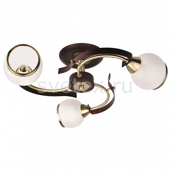 Потолочная люстра ToscomЛюстры<br>Артикул - TO_XD-993-903,Бренд - Toscom (Китай),Коллекция - Helix,Гарантия, месяцы - 24,Высота, мм - 180,Диаметр, мм - 430,Размер упаковки, мм - 180x255x255,Тип лампы - компактная люминесцентная [КЛЛ] ИЛИнакаливания ИЛИсветодиодная [LED],Общее кол-во ламп - 3,Напряжение питания лампы, В - 220,Максимальная мощность лампы, Вт - 60,Лампы в комплекте - отсутствуют,Цвет плафонов и подвесок - белый с каймой,Тип поверхности плафонов - матовый,Материал плафонов и подвесок - стекло,Цвет арматуры - бронза, венге,Тип поверхности арматуры - матовый,Материал арматуры - металл,Количество плафонов - 3,Возможность подлючения диммера - можно, если установить лампу накаливания,Тип цоколя лампы - E27,Класс электробезопасности - I,Общая мощность, Вт - 180,Степень пылевлагозащиты, IP - 20,Диапазон рабочих температур - комнатная температура,Дополнительные параметры - способ крепления светильника к потолку - на монтажной пластине<br>