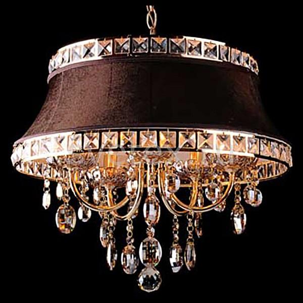 Фото Подвесной светильник Eurosvet 3271 3271/5 зол.тонированный/коричневый Strotskis