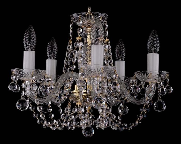 Фото Подвесная люстра Bohemia Ivele Crystal 1406 1406/5/141/G/Balls