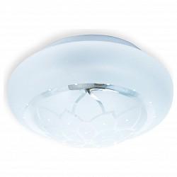 Накладной светильник TopLightКруглые<br>Артикул - TPL_TL9550Y-02WH,Бренд - TopLight (Россия),Коллекция - Cori,Гарантия, месяцы - 24,Диаметр, мм - 220,Размер упаковки, мм - 260x130x260,Тип лампы - компактная люминесцентная [КЛЛ] ИЛИнакаливания ИЛИсветодиодная [LED],Общее кол-во ламп - 2,Напряжение питания лампы, В - 220,Максимальная мощность лампы, Вт - 60,Лампы в комплекте - отсутствуют,Цвет плафонов и подвесок - белый с неокрашенным рисунком,Тип поверхности плафонов - матовый, прозрачный,Материал плафонов и подвесок - стекло,Цвет арматуры - белый,Тип поверхности арматуры - матовый,Материал арматуры - металл,Возможность подлючения диммера - можно, если установить лампу накаливания,Тип цоколя лампы - E27,Класс электробезопасности - I,Общая мощность, Вт - 120,Степень пылевлагозащиты, IP - 20,Диапазон рабочих температур - комнатная температура,Дополнительные параметры - способ крепления светильника к потолку и к стене - на монтажной пластине<br>