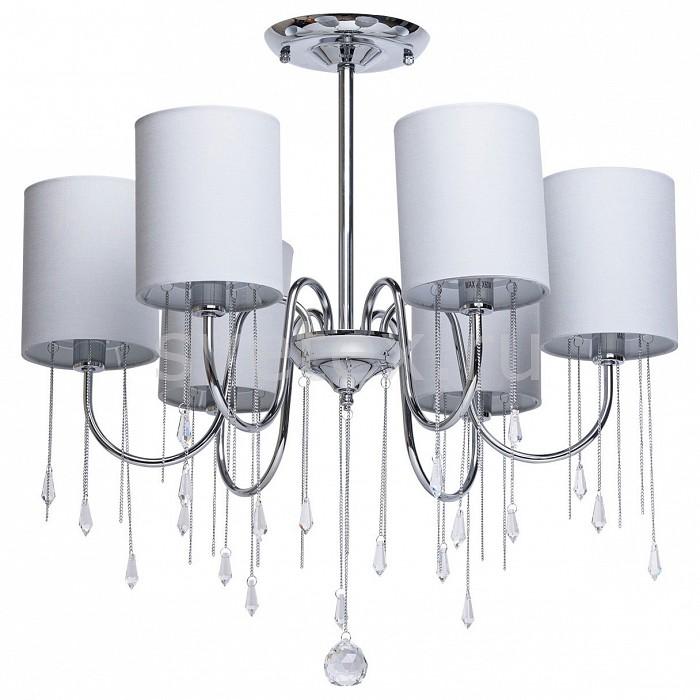 Люстра на штанге MW-LightСветильники<br>Артикул - MW_379018506,Бренд - MW-Light (Германия),Коллекция - Федерика 5,Гарантия, месяцы - 24,Высота, мм - 630,Диаметр, мм - 640,Тип лампы - компактная люминесцентная [КЛЛ] ИЛИнакаливания ИЛИсветодиодная [LED],Общее кол-во ламп - 6,Напряжение питания лампы, В - 220,Максимальная мощность лампы, Вт - 40,Лампы в комплекте - отсутствуют,Цвет плафонов и подвесок - светло-серый, неокрашенный,Тип поверхности плафонов - матовый, прозрачный,Материал плафонов и подвесок - текстиль, хрусталь,Цвет арматуры - хром,Тип поверхности арматуры - глянцевый,Материал арматуры - металл,Количество плафонов - 6,Возможность подлючения диммера - можно, если установить лампу накаливания,Тип цоколя лампы - E14,Класс электробезопасности - I,Общая мощность, Вт - 240,Степень пылевлагозащиты, IP - 20,Диапазон рабочих температур - комнатная температура,Дополнительные параметры - способ крепления светильника на потолке - на монтажной пластине<br>
