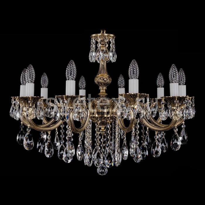 Фото Подвесная люстра Bohemia Ivele Crystal 1702 1702/10/B/GB